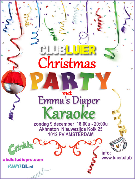 Amsterdam Christmas ABDL Party